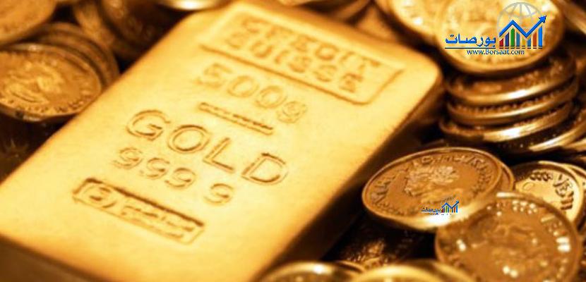 هبوط الذهب عند التسوية ويسجل خسائر أسبوعية